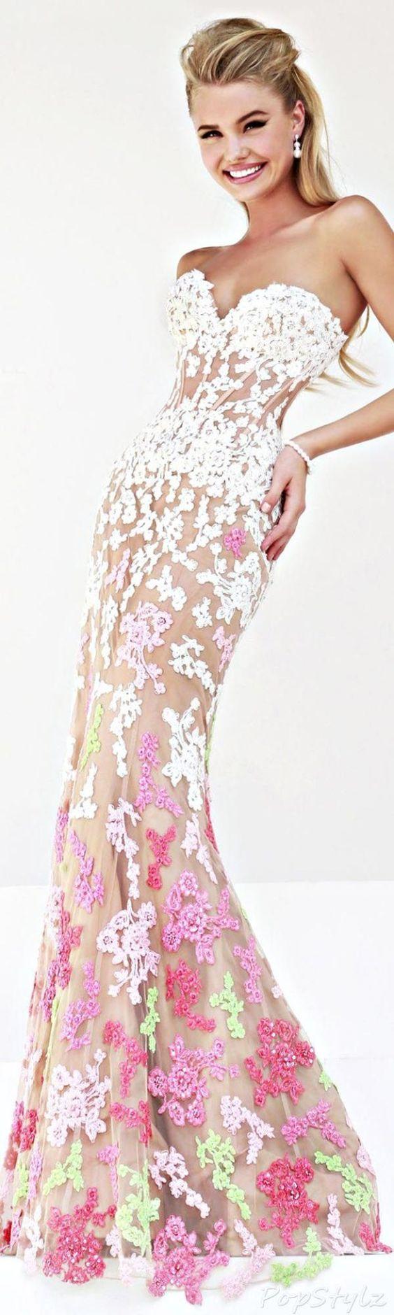 Allure! Designer Gown Fashion Trends Dress
