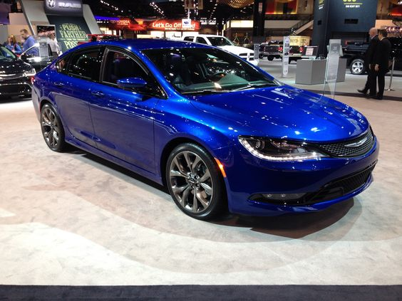 The all new 2015 Chrysler 200 in Vivid Blue Pear at the ...