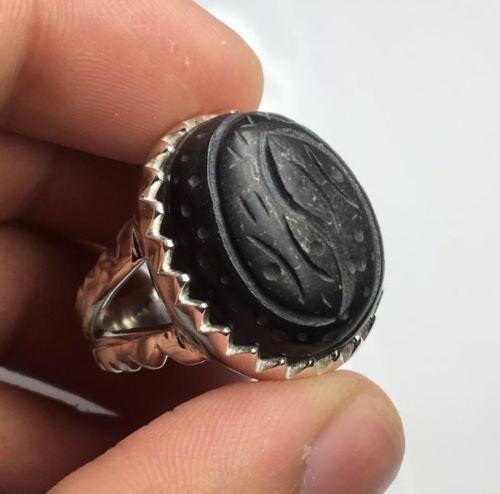 999 Fine Silver Original African Hibhab Yisham Men Ring هبهاب أفريقي أصلي Rings For Men Silver Rings Fine Silver