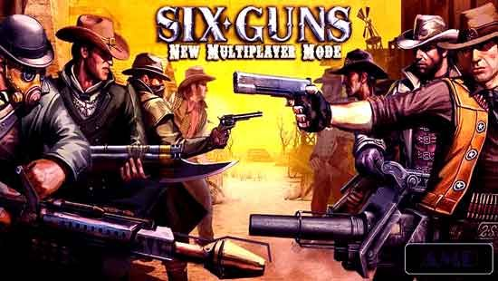 Six Guns Gang Showdown Mod Unlimited Money Apk Data V2 9 5c