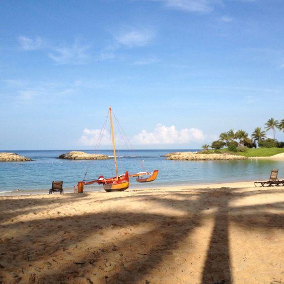 Hawaii Aulani Beach