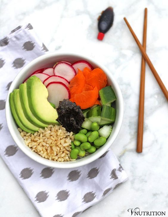 Deconstructed Sushi Bowl is perfect when you want sushi but don't ...