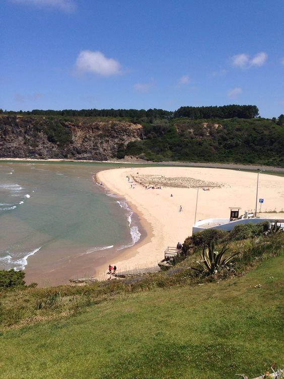 Praia de Odeceixe Mar – Portugália