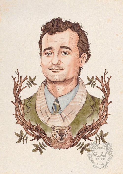 Rachel Corcoran's Portrait of Bill Murray