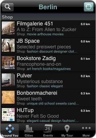 """AppGuide: """"Berlin Unlike City Guide ist der Szene-Reiseführer für die Hauptstadt."""""""