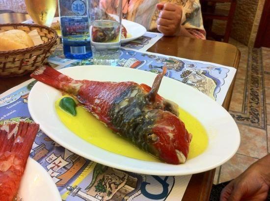 Vieja guisada. Restaurante El Puntero