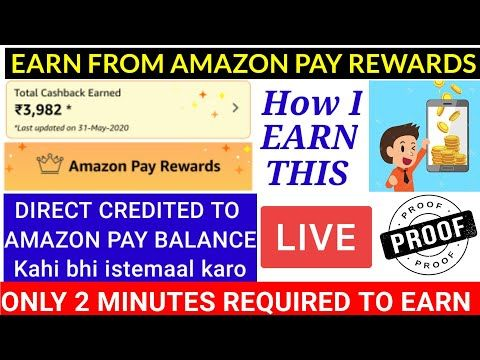 Earn Money From Amazon Pay Rewards Collect Offer In 2020 Amazon Pay Rewards Kaise Use Kare Youtube Earn Money Earnings Online Earning