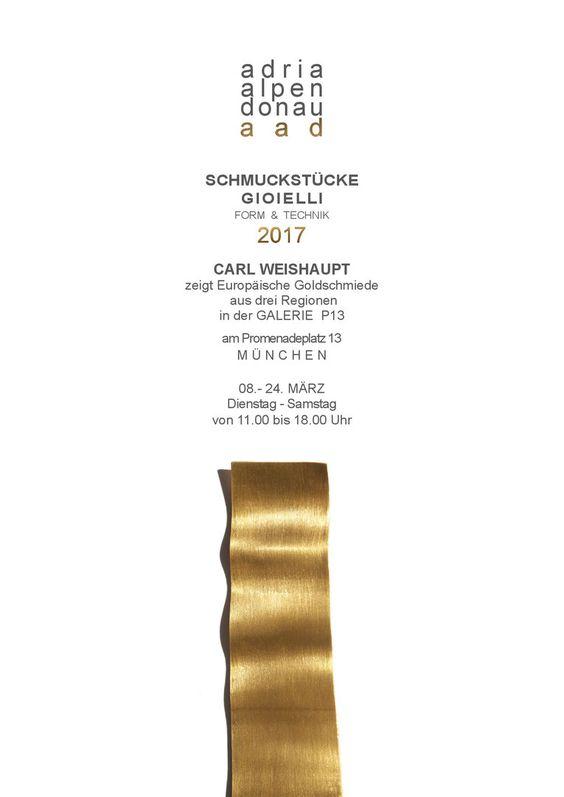 """""""Adria Alpen Donau Schmuckstücke Gioielli 2017"""":"""