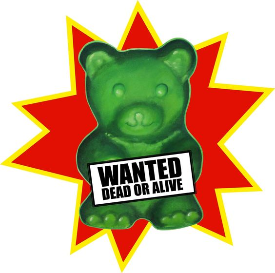 """""""WANTED"""" 50x60 #sabrinarocca #art #sticker #madeinitaly #aaart #interiordesign #artchandising http://www.aaart.eu/shop/artchandising/wanted/ Orsacchiotto gommoso (vivo o morto), una tentazione irresistibile. Il soggetto è stato riprodotto all'interno del progetto """"Imago mundi"""" di Luciano Benetton"""
