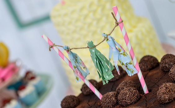 Detalhe de bolo