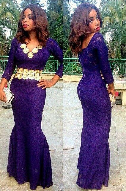 Purple!!! ~Latest African Fashion, African Prints, African fashion styles, African clothing, Nigerian style, Ghanaian fashion, African women dresses, African Bags, African shoes, Kitenge, Gele, Nigerian fashion, Ankara, Aso okè, Kenté, brocade. ~DK: