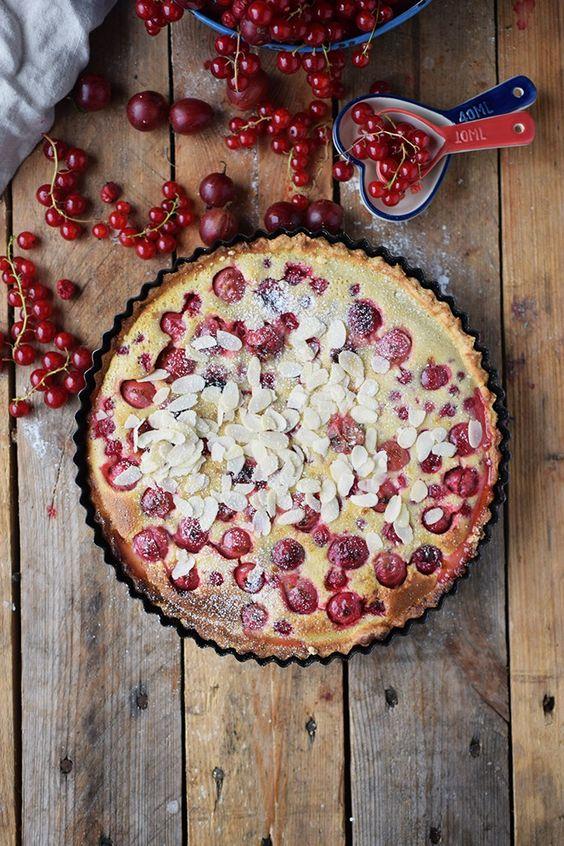 Clafoutis Beeren Tarte - Clafoutis Berry Tart | Das Knusperstübchen