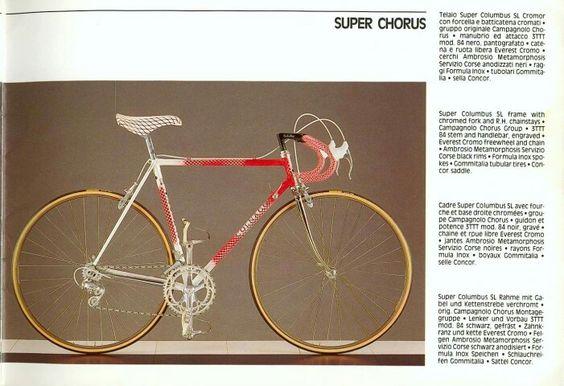 1988 Colnago Catalog // Super Chorus
