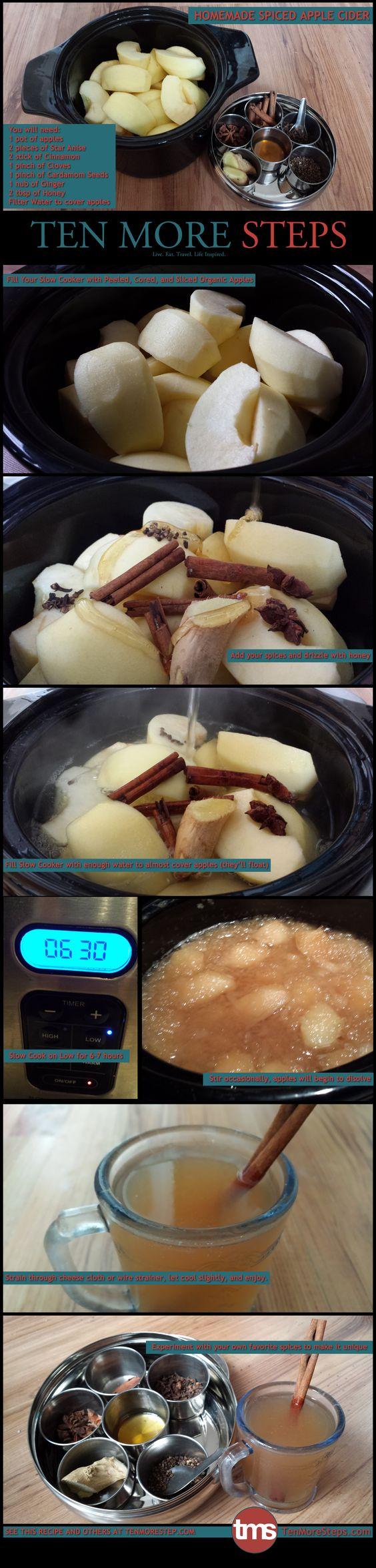 [Homemade]Homemade Spiced Apple Cider http://ift.tt/2ezNW9g