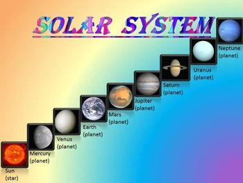 6th grade solar system powerpoints - photo #49