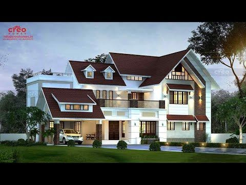 Home Designs 2019 Contemporary Modern Look Budget Mid Range Homes Youtube In 2020 House Roof Design Kerala House Design Bungalow Design