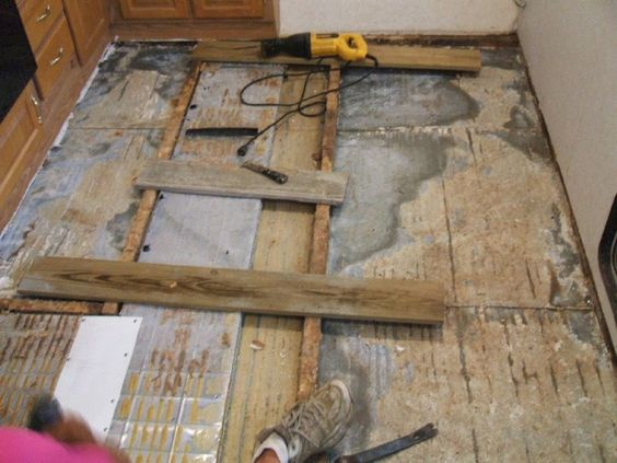 How To Replace Bathroom Floor In Travel Trailer Photos