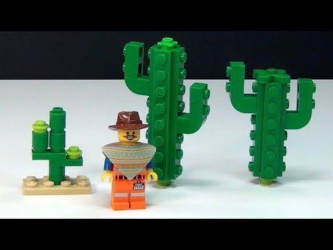 How To Build a LEGO Movie Cactus & Stop Motion Segment