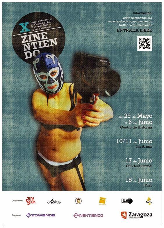 Cartel Zinentiendo 2015 edicion X: