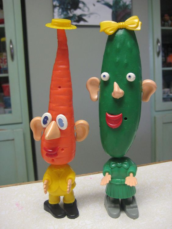 All sizes | Katie Carrot & Cooky The Cucumber | Flickr ...