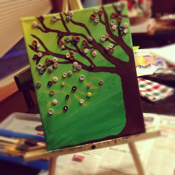 I painted this from an idea on Pinterest and it was so easy and is going to make a fantastic Christmas present :0) love it!