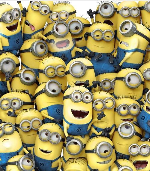 Minions!  Who doesn't love MINIONS!!!! lol