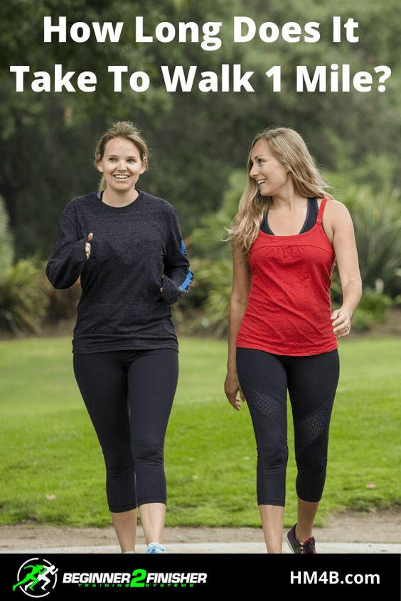 How Long Does It Take To Walk 1 Mile In 2020 Walking Take That Brisk Walking