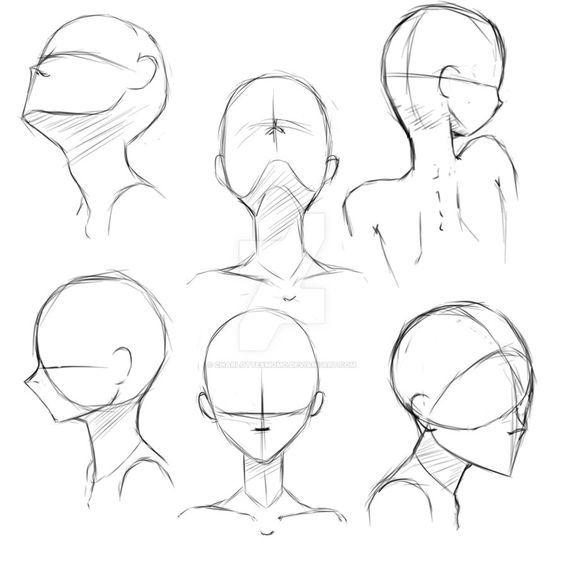 Como Dibujar Caras Y Cabezas De Mujer Y Hombre Facilmente El Como De Las Cosas Dibujos De Caras Como Dibujar Una Cara Dibujos