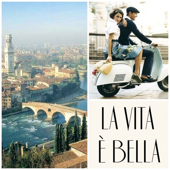 Hope you're all out enjoying yourselves because La Vita e Bella - Life is Beautiful! #Travel #Italy #Quotes