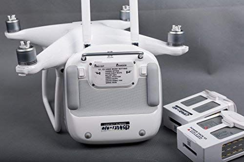 Summitlink White Sticker Set Function/ID/Marking/Decal/Compatible for/DJI/Phantom/3/Professional/and/Advanced/Multifunction