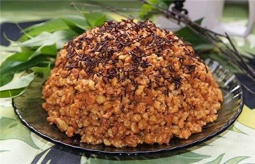 Торт «Муравейник» - рецепт с фото на Овкусе.ру / Простые рецепты