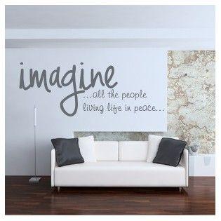 Imagine vinilo decorativo para el sal n cocina o for Vinilos dormitorio