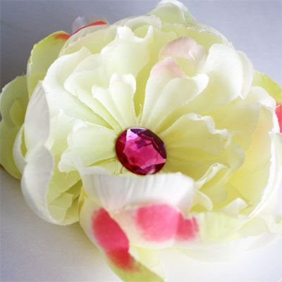 Flower Hair Pin Tutorial