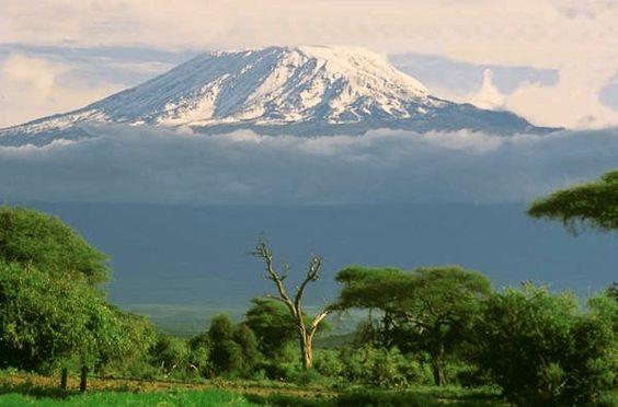 Mount Kilimanjaro | Mount Kilimanjaro: Location:Tanzania Type of volcano: Startovolcano ...