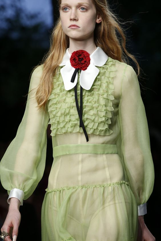 Gucci Spring 2016 Ready-to-Wear Fashion Show Details: