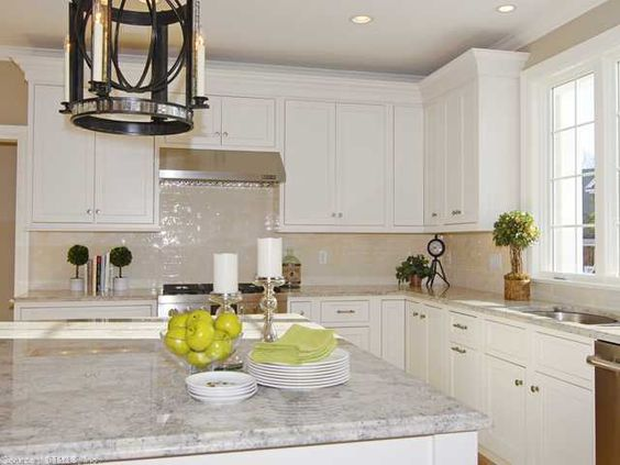 A Beautiful Staged Kitchen Clean And Fresh Staging