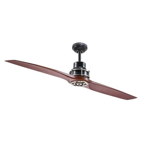 Kichler 56 In Satin Black Indoor Ceiling Fan And Remote 2 Blade At Lowe S Form Function And St In 2020 Ceiling Fan With Remote Ceiling Fan Ceiling Fan Installation