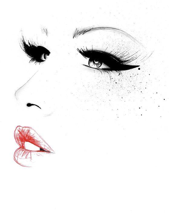 fashion illustration by Kornelia Debosz: