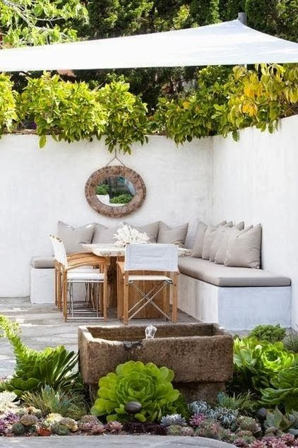 Ideas prácticas para diseñar un patio pequeño