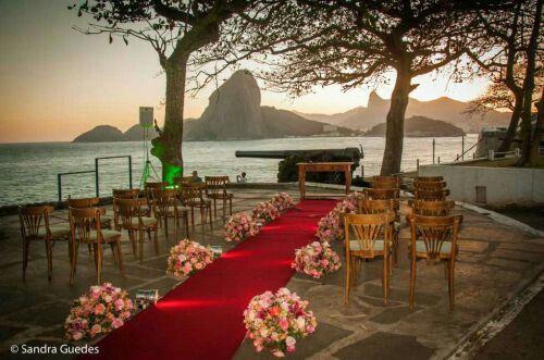 O que me espera no meu casamento... a vista mais linda