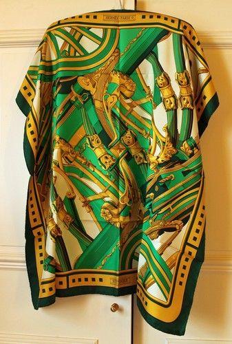 "Stunning Very RARE Hermes Paris Silk Scarf ""Rythmes""   eBay"