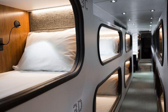 Schlaf In Km H Mit Ride Cabin Ganz Entspannt Von La Nach San Francisco Busreisen Schlafen Luxurios