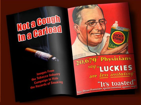 the role and influence of advertising on smokers The government banned cigarette commercials on television in 1970 after the  1964 surgeon general's report found that smoking cigarettes.