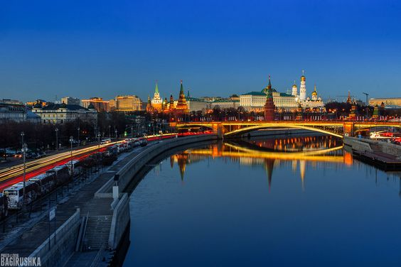 Moscow evening by bagirushka