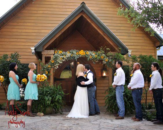 Mya and Heath's wedding, photo by: Andy Sams Photography
