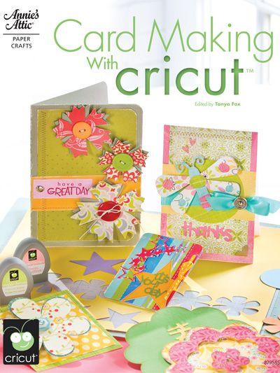 Cricut card making book