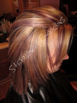 Remarkable Red Blonde Red Blonde Highlights And Colors On Pinterest Short Hairstyles Gunalazisus