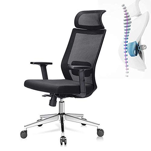 Office Desk Chair Computer Task Chair Ergonomic Office Chair High Back Mesh Desk Chair With Adjustable Seat Hei Office Chair Office Desk Chair Ergonomic Office