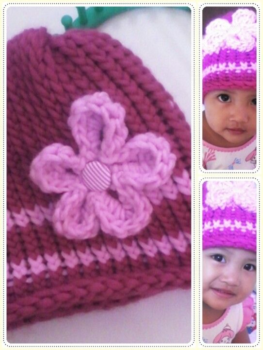Knitting with knitting loom My finger, My yarns, My hook, My heart, My Crea...