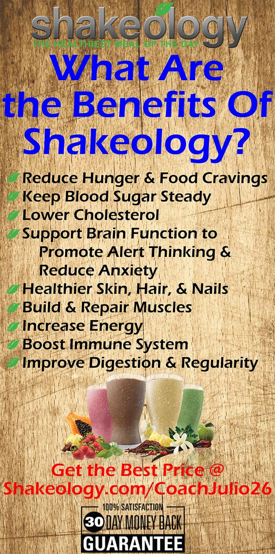 It's not always about what is Shakeology. Sometimes we just want to know the benefits of Shakeology. There you have it! A full list of what Shakeology can do for you. http://www.shakeology.com/psusteiny
